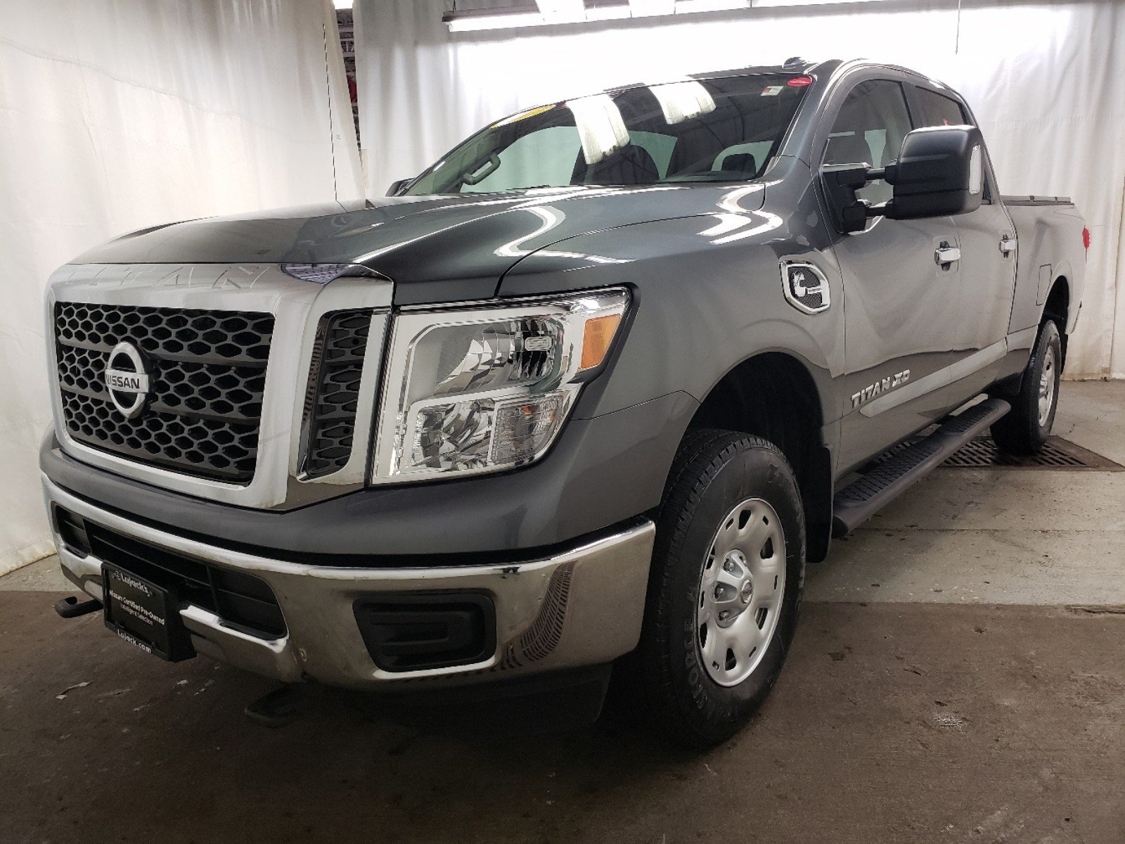 Certified Pre-Owned 2017 Nissan Titan XD SV