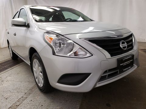 Certified Pre-Owned 2019 Nissan Versa Sedan S
